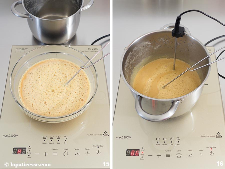 Mousse Bavaroise Karamell Vanille Rezept Zubereitung 15-16